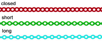 Elast-O-Chain Types